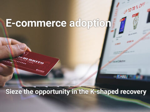 E-commerce adoption in the K-shaped recovery